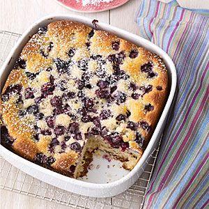 Snack Cake Lemon-Blueberry Snack Cake | Lemon-Blueberry Snack Cake |
