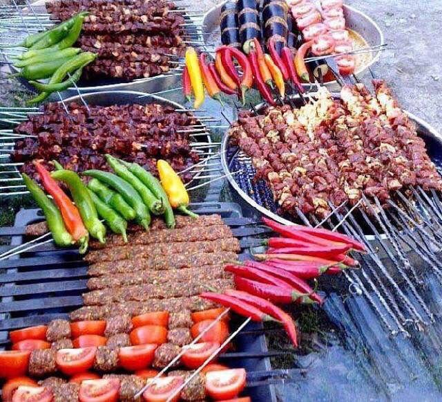 kebab!!! Kurdish yummy foid   Iranische Kochen in 2019 ...