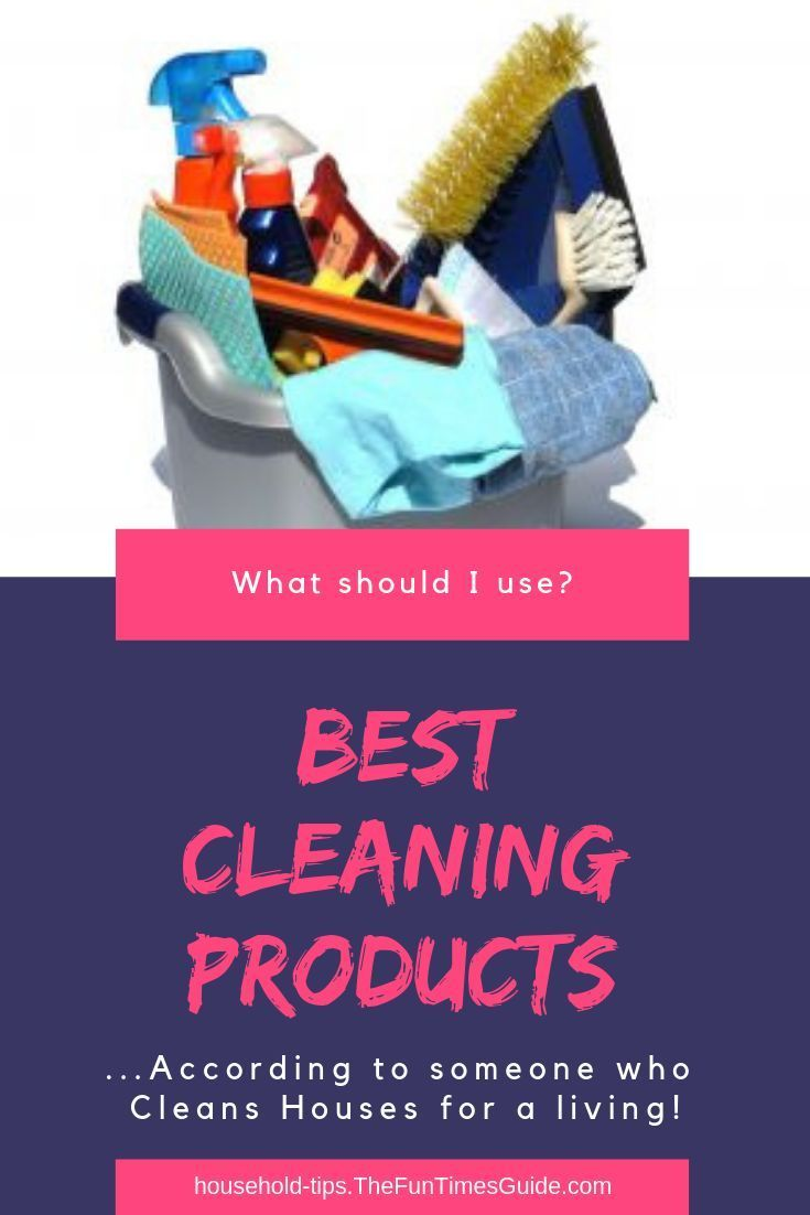 The Best Cleaning Products …From Someone Who Cleans Houses ...
