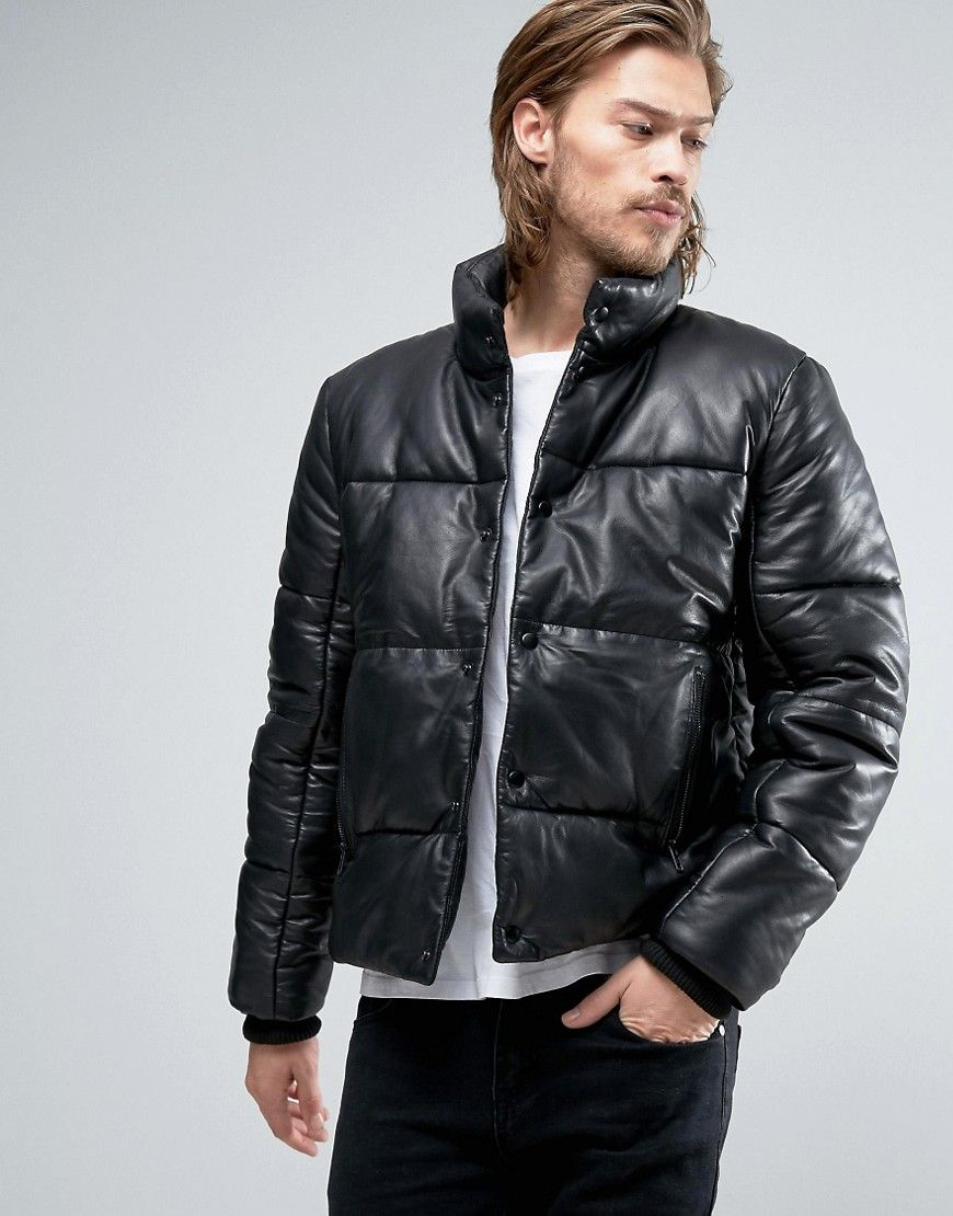 Get this Asos's leather jacket now! Click for more details