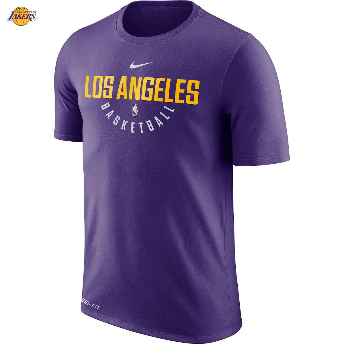 e4b85df6d57b Los Angeles Lakers Nike Practice Performance T-Shirt 2018 LeBron James  Purple NEW King WOW!! the king is now a lakers player! show your support
