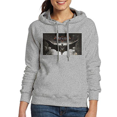 VenC Womens Hooded Sweatershirts Hoodies Bat Night Man Ash XL ** More info could be found at the image url.  This link participates in Amazon Service LLC Associates Program, a program designed to let participant earn advertising fees by advertising and linking to Amazon.com.