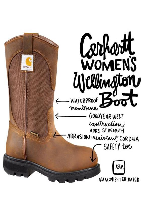 Womens Wellington Workboot in 2020