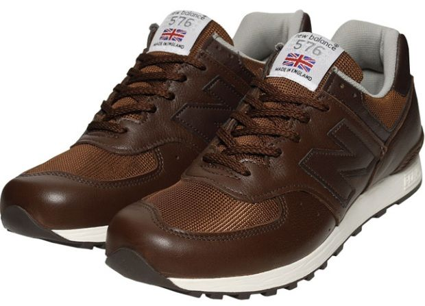New Balance - 576 Brown/White | New balance, Sneakers, New balance ...