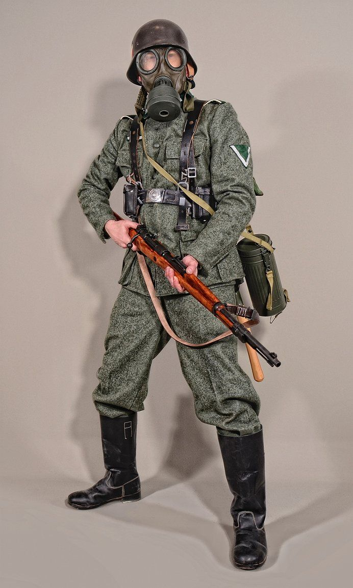 military uniform wehrmacht soldiers ww2 01 by