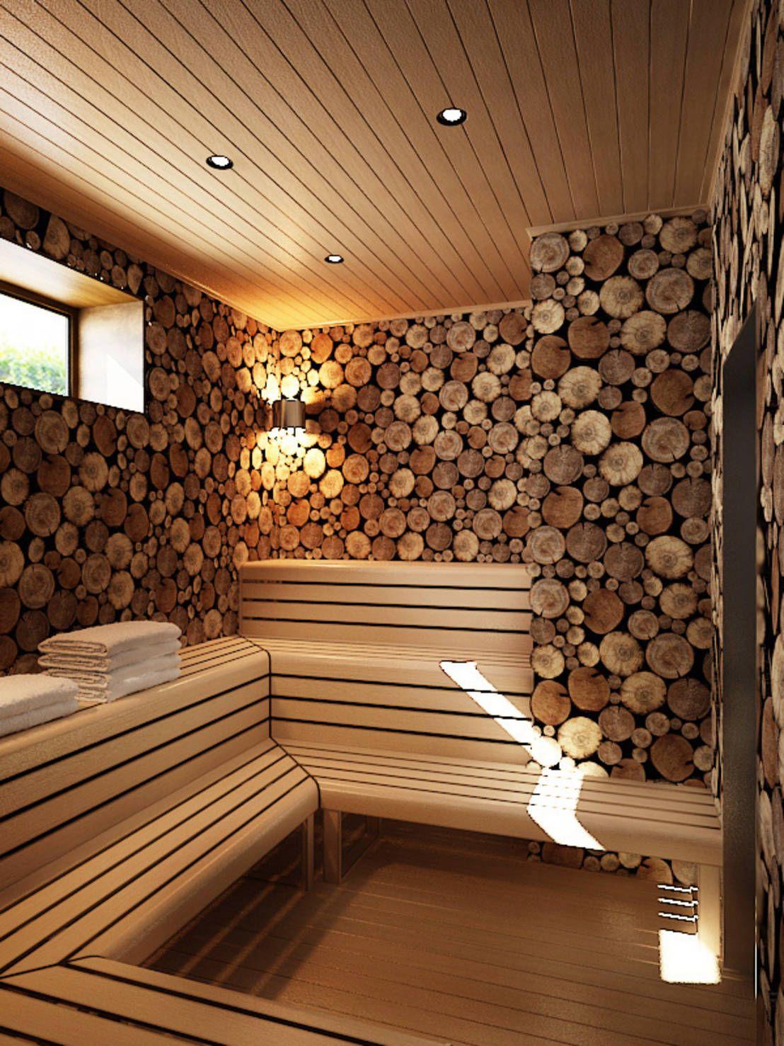 Badezimmer eitelkeiten mit oberen speicher  вариантов дизайна интерьера домашней сауны  sauna  pinterest