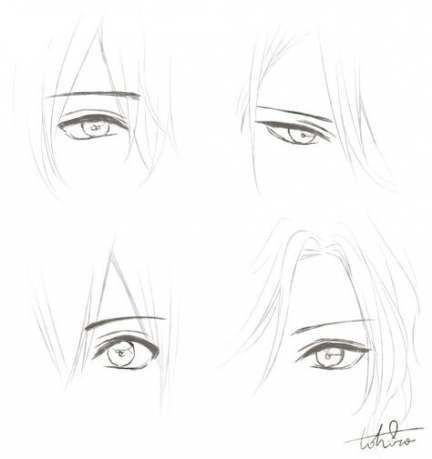 53 Ideas For Drawing Eyes Male Anime In 2020 Anime Eye Drawing Anime Drawings Sketches Anime Drawings Tutorials