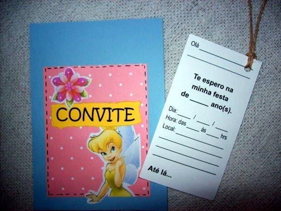 CONVITES EM SCRAPBOOK - SININHO!!
