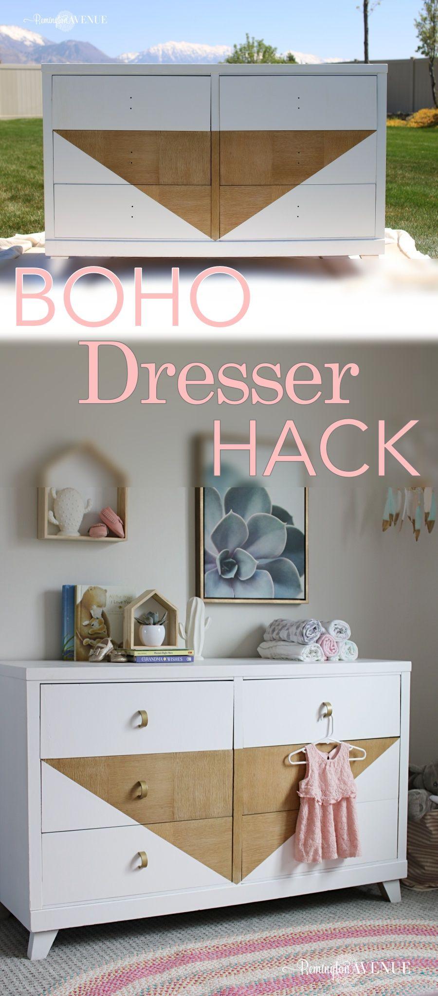 Diy Boho Dresser Tutorial