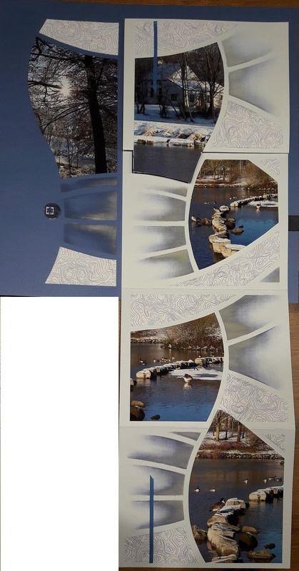 les arches la neige scrap d co et compagnie pages. Black Bedroom Furniture Sets. Home Design Ideas