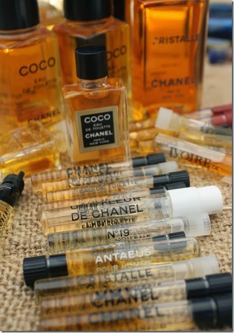 Chanel fragrance samples
