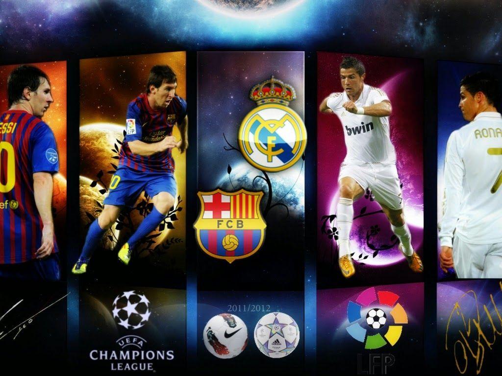 Real Madrid Vs Barcelona Wallpaper Free Download Ronaldo Messi Lionel Messi