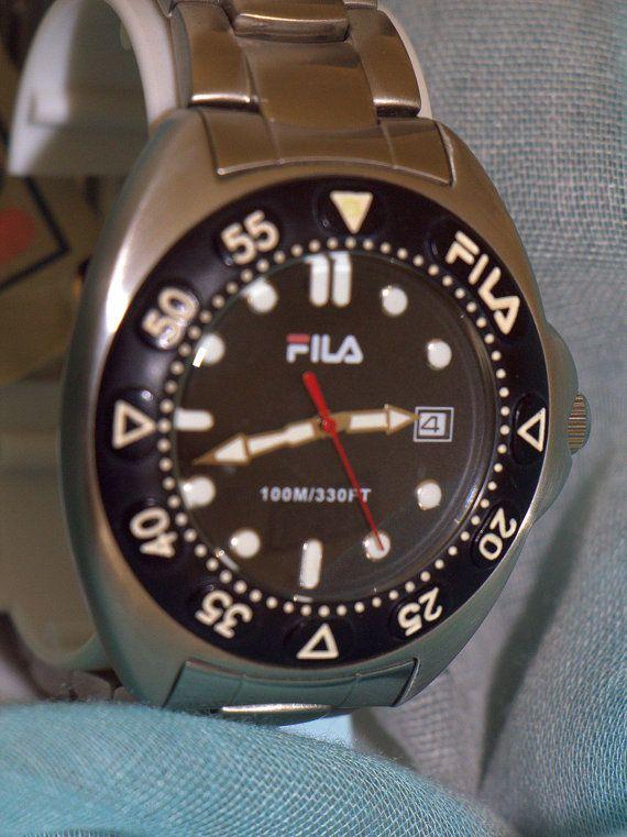 Reloj deportivo FILA de acero inoxidable mitad de por PetraCool