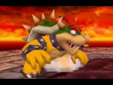 Super Mario 64 DS - 100% Walkthrough Part 7 - Bowser in the
