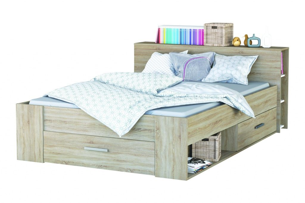 Leenbakker Slaapkamer Meuble : Twijfelaar bed pocket faye s slaapkamer nl