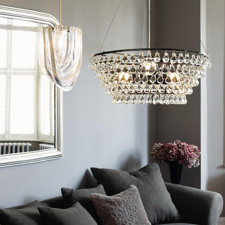 New Design Hand Blown Art Glass Chandelier Modern LED Ceiling Lights For Interior Decoration Yellow Murano Glass LED Light Chain Chandelier Lighting