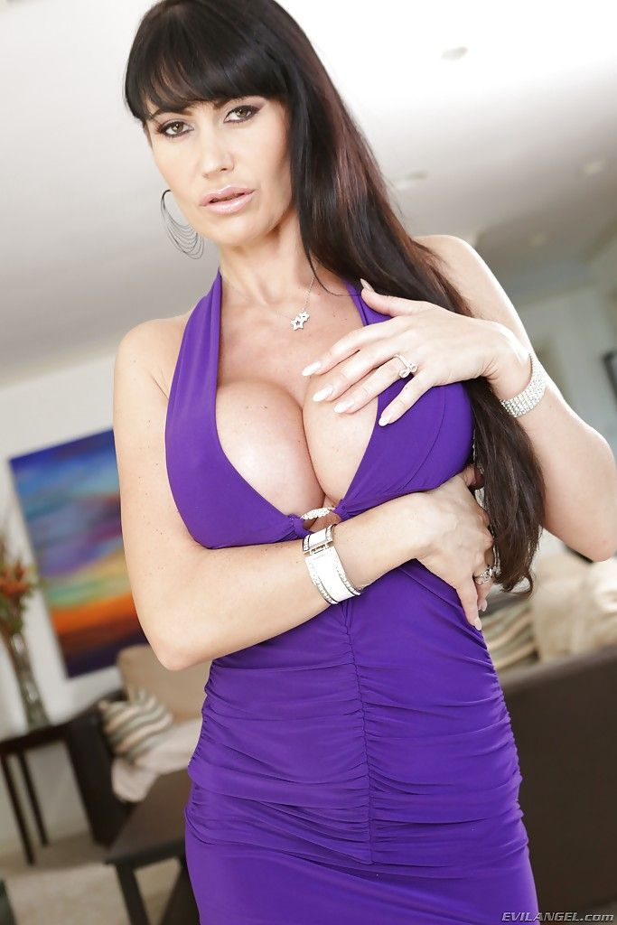 Purple dress milf!!