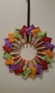 With Our Powers Combined: Tea Wreath #secretsantaideasforwork
