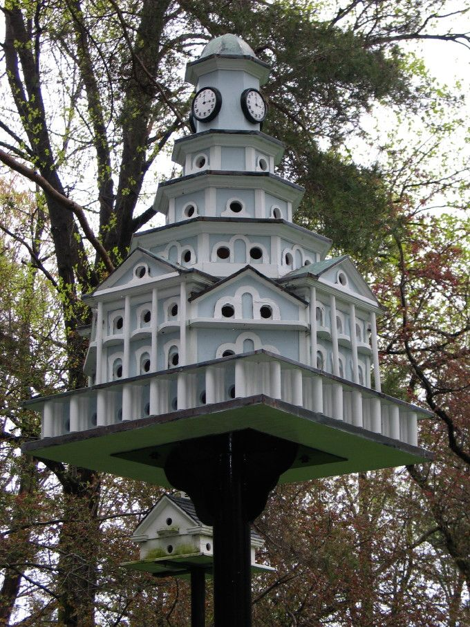 purple martin house - probably a newer version based on original