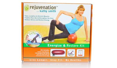 Kathy Smith's Workout Kit provides exercise videos designed to help you get fit in the comfort of your home without using bulky and expensive equipment. http://products.mercola.com/fitness/kathy-smith-energize-and-restore-kit/