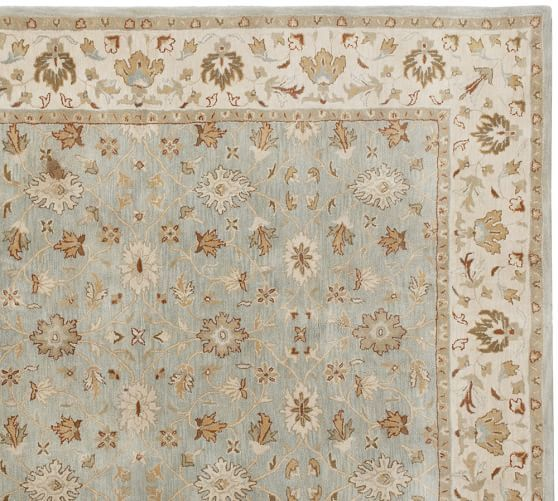 Malika Persian Style Rug | Pottery Barn   For Master Bedroom