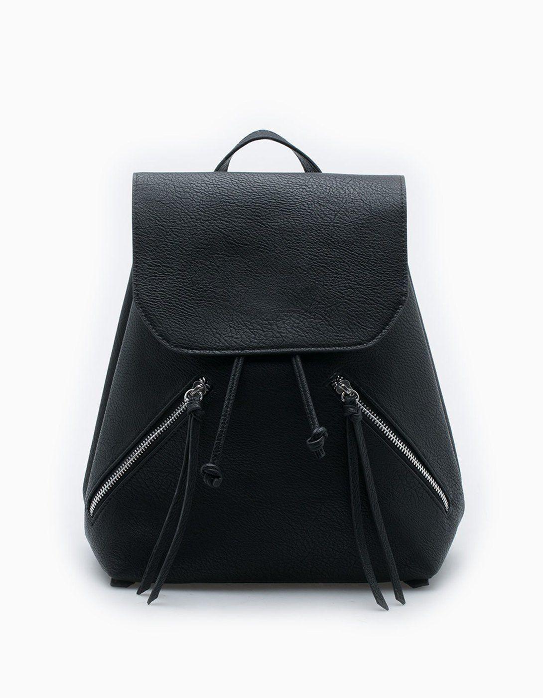 9c37f98be4fb Mini backpack with zip detail - Bags | Stradivarius Croatia | my ...