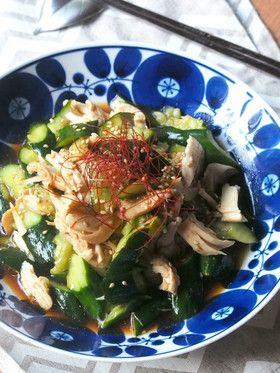 簡単さっぱり✿ささみと胡瓜の中華和え by emyo [クックパッド] 簡単おいしいみんなのレシピが241万品