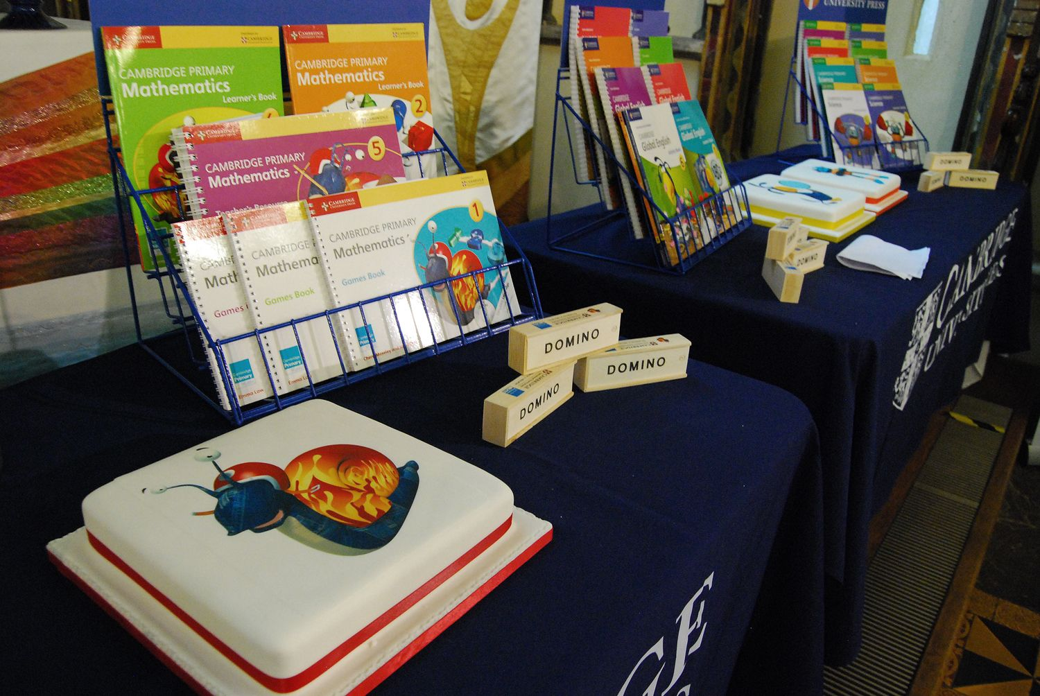 Cambridge Primary book launch at Michaelhouse Café in