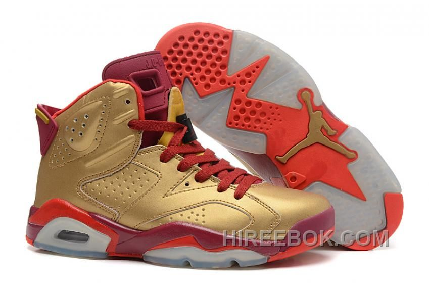white gold 535 buy air jordans 6 retro metal golddeep red varsity red for sale discount from reliabl