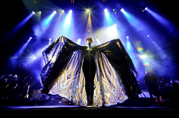 Florence & the Machine performing in London