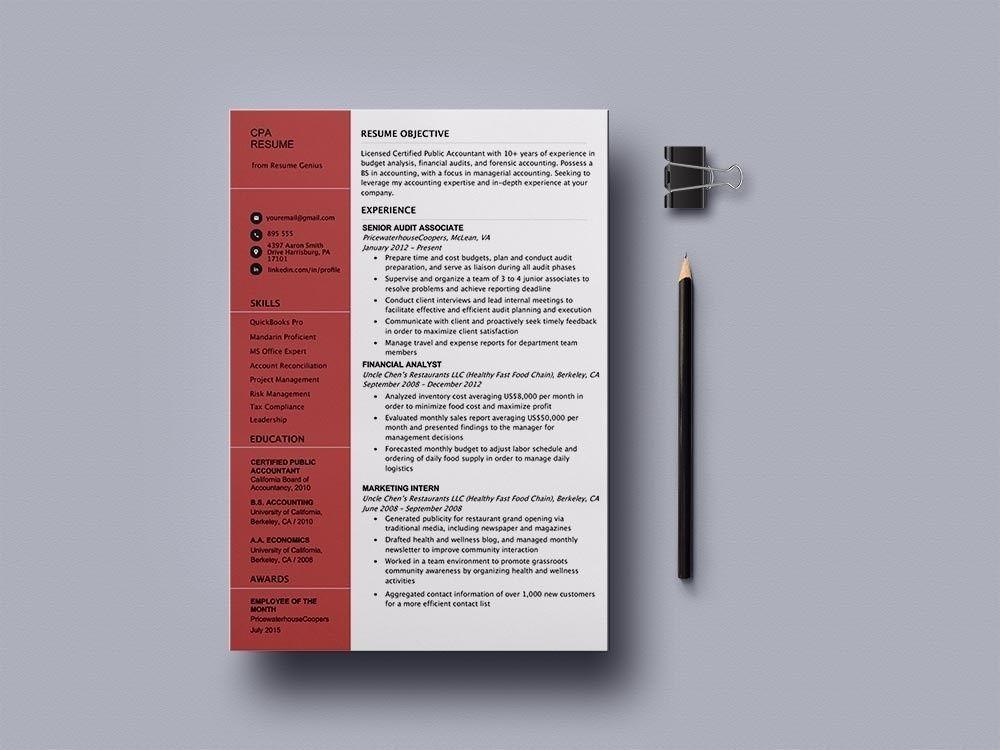 Resume template resume template free resume