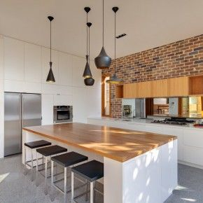 Miraculous Almost My Kitchen Coloring White Island With Timber Bench Pdpeps Interior Chair Design Pdpepsorg