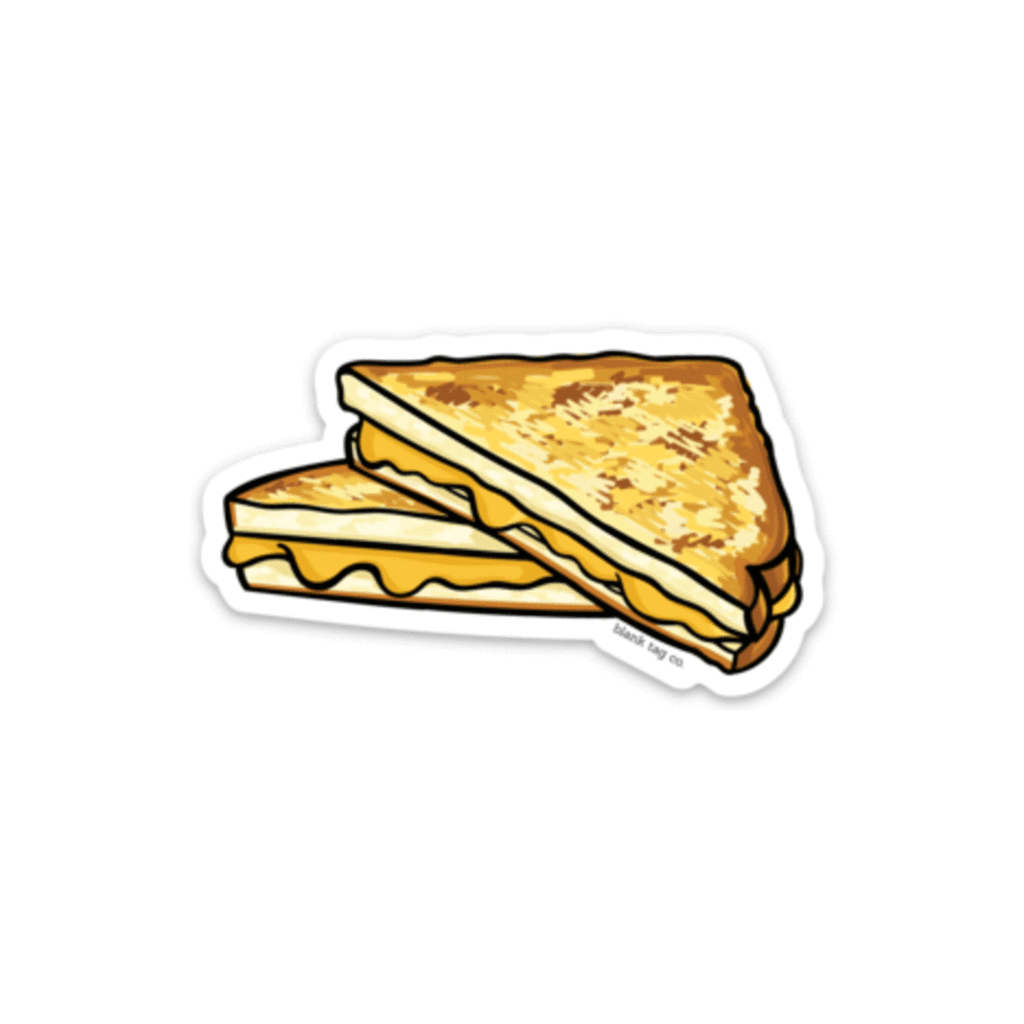 The Grilled Cheese Sticker Pegatinas Laptop Pegatinas Comida Para Dibujar