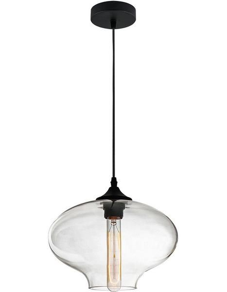 Aria Clear Glass Pendant Light
