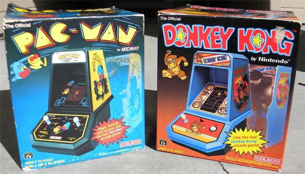 vintage donkey kong tabletop game