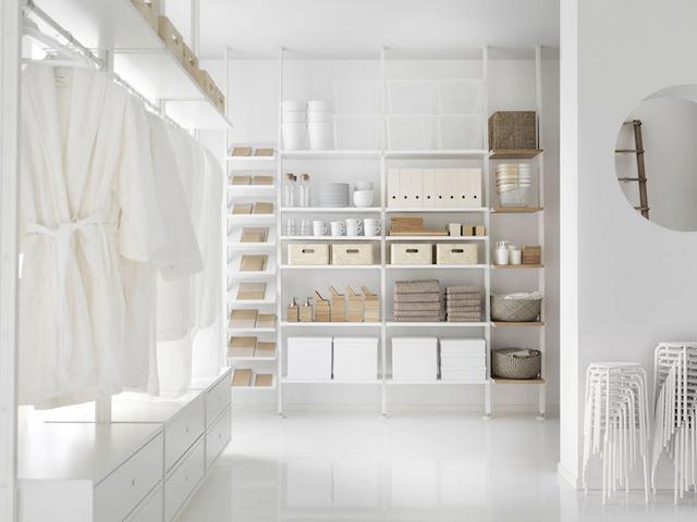 Cabina Armadio Elvarli : Ikea currently having the elvarli shelving system on my mind i
