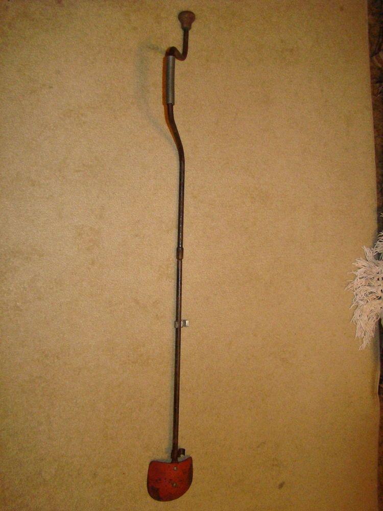 Vintage Ice Fishing Auger Spoon Drill #3 Snabb Mora Borren