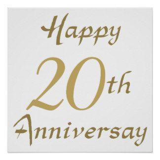 Happy 20th Anniversary Anniversary Marriage Anniversary Wishes
