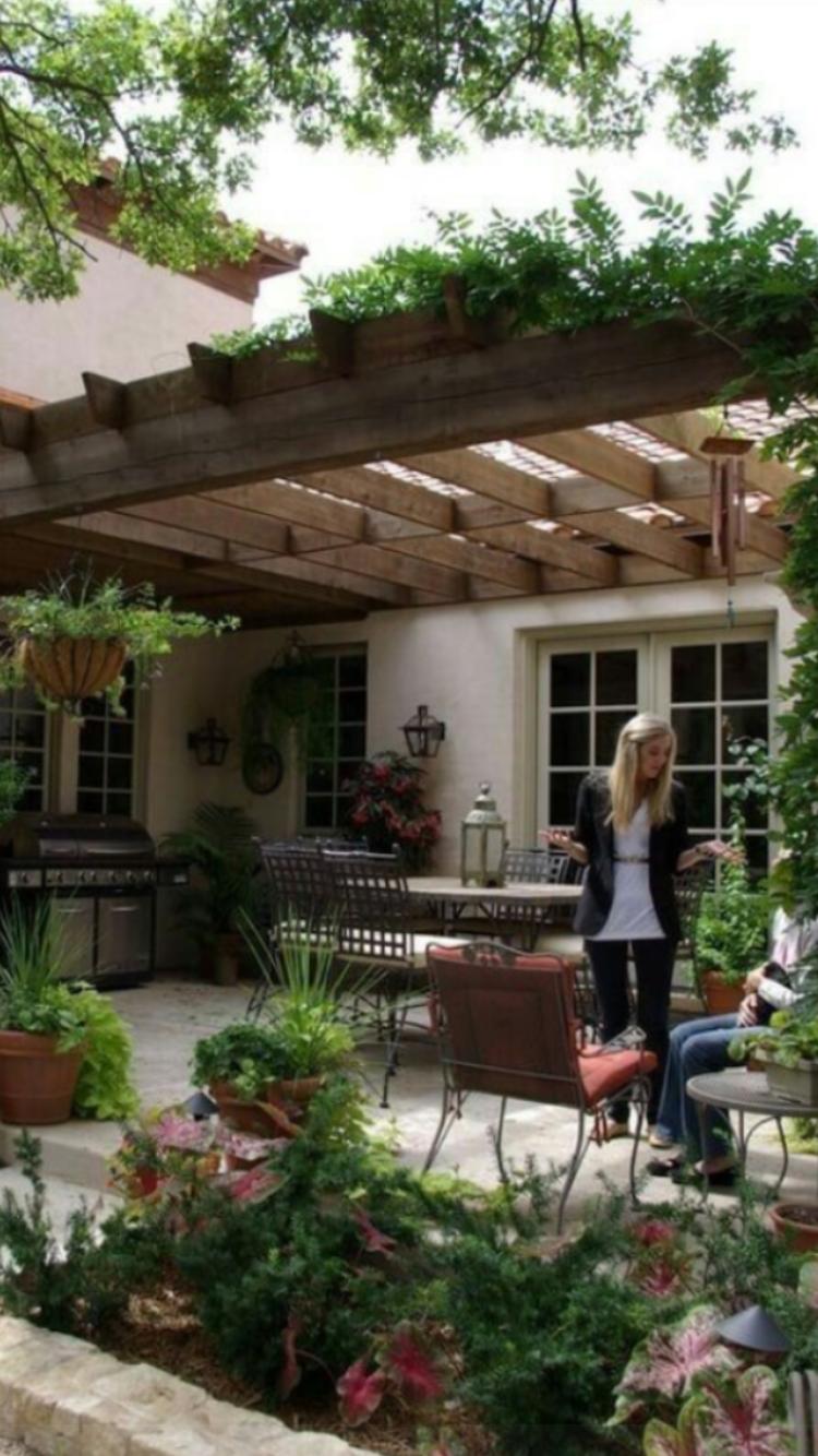 Pin de Sandy MALY en BACKYARDS | Pinterest | Jardin en casa, Dias ...