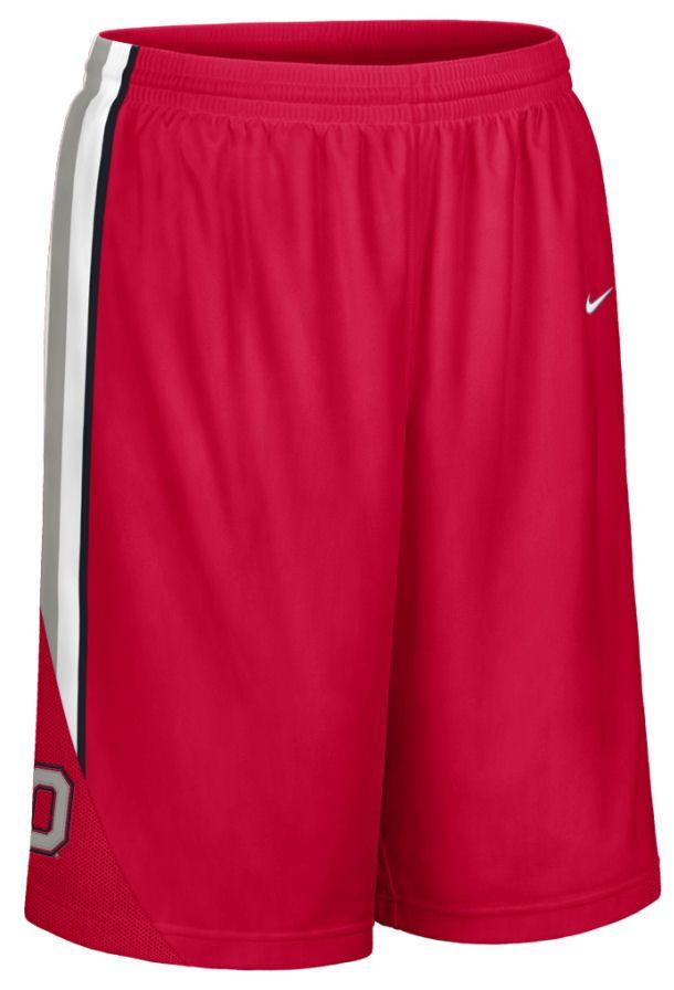 7f6c726104bb Nike Ohio State Buckeyes Replica Basketball Shorts - White