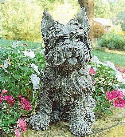 Toto Garden Cairn Terrier Statue Dog Statue Norwich Terrier