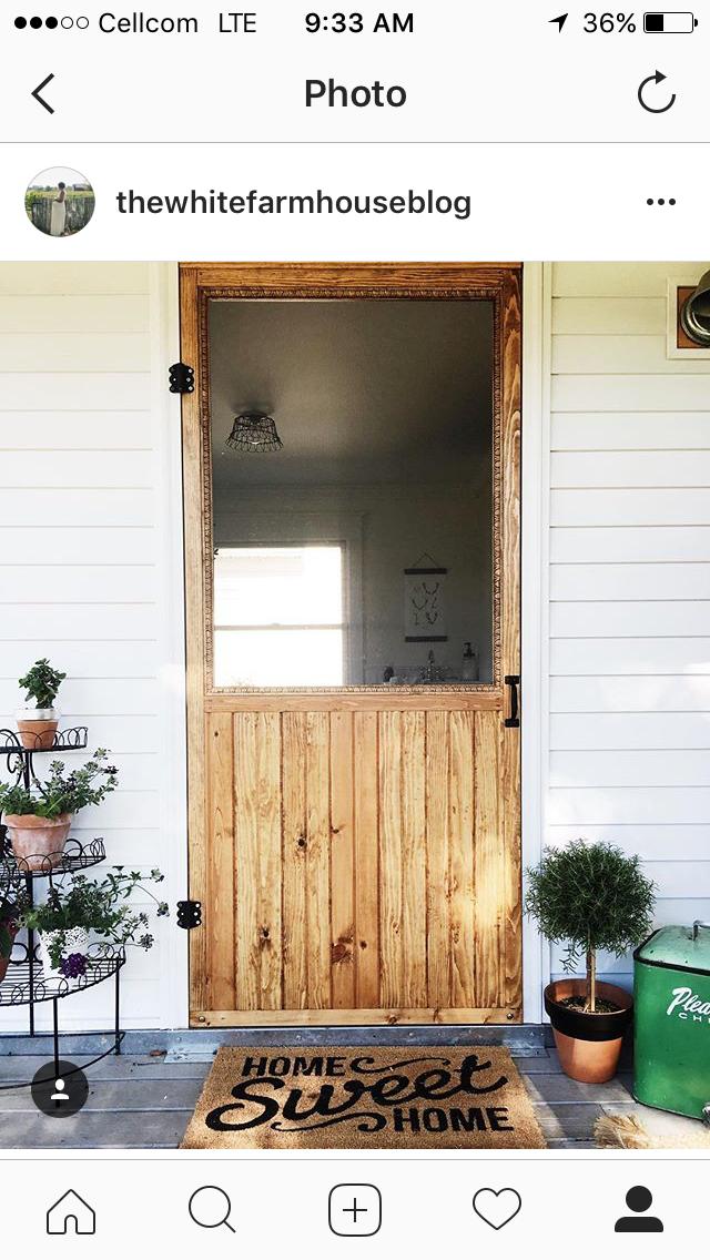 Pin By Childers Homes On Front Porches Türen Fliegentür Schiebe Tür