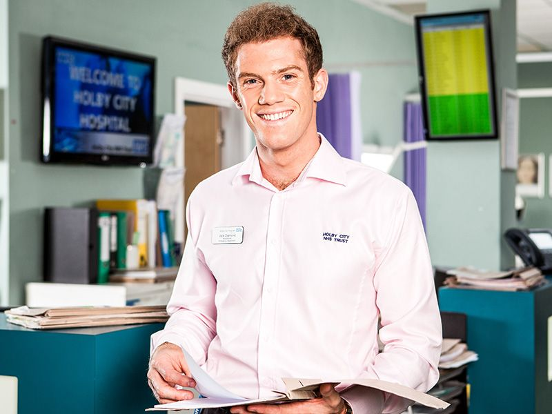 Born: 12th November 1988 ~ Alistair Brammer  is an English actor best known for playing the receptionist Jack Diamond in Casualty.