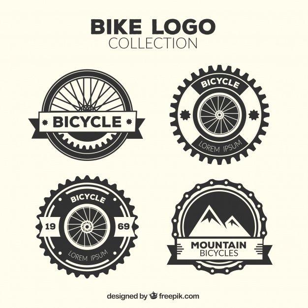 Download Four Vintage Bicycle Logos For Free Logos Vector Free