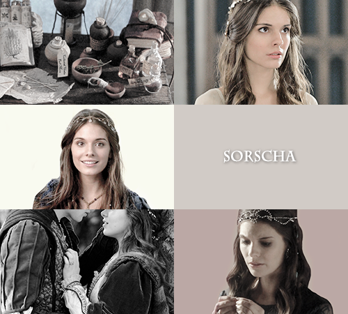 Sorscha was really the only reason I enjoyed Heir of Fire... at least, until she died... oh, I miss Sorscha. She was sweet and Dorian and her were OTP.