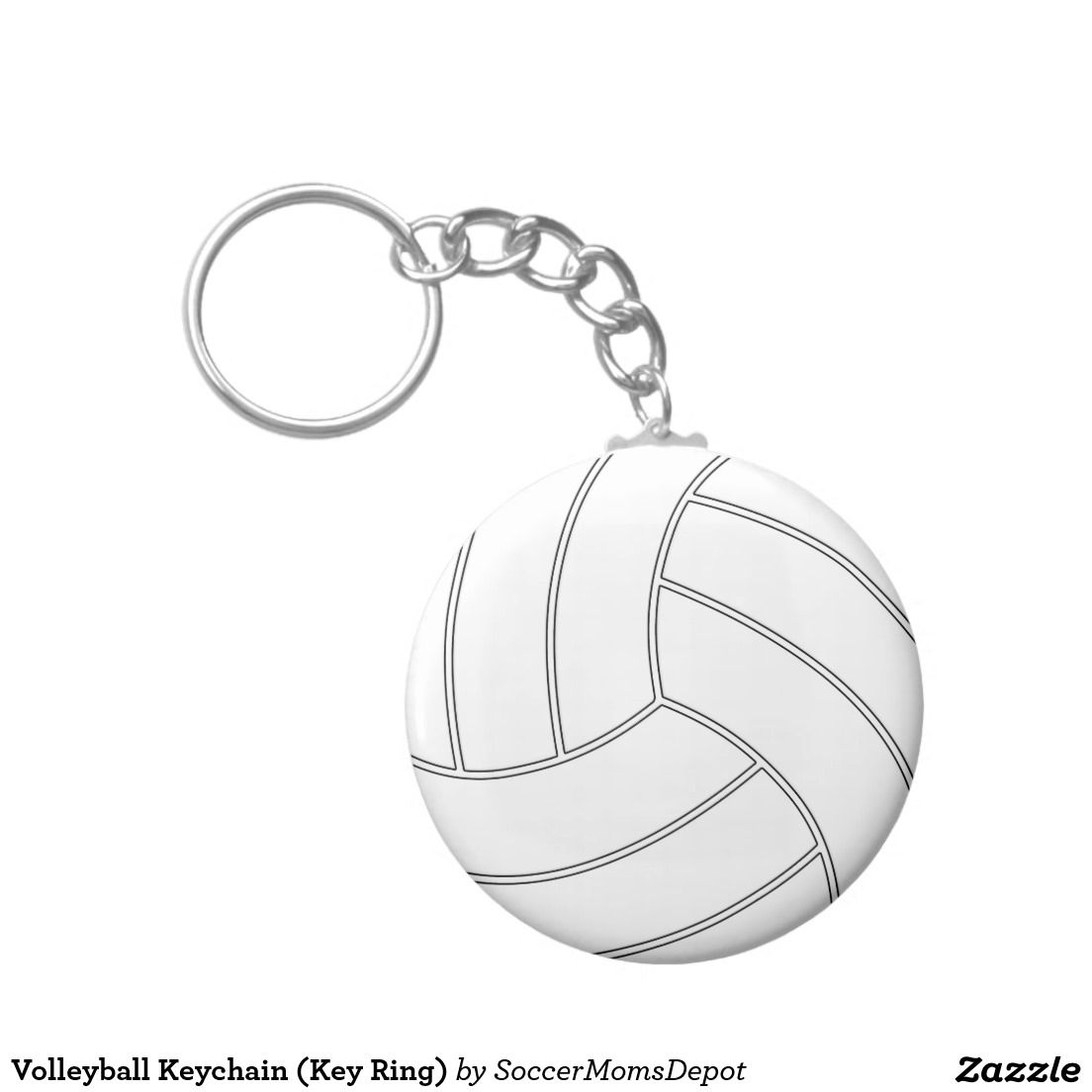 Volleyball Key Chain Keyring I Simple Affordable And Cute Team Gift Party Favor Or Stocking Stuffer Idea You Volleyball Team Gifts Volleyball Team Gifts
