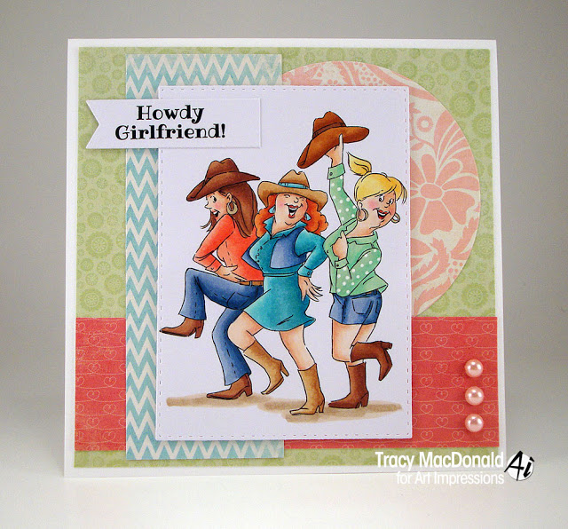 Cowgirl Boogie (With images) Art impressions stamps, Art