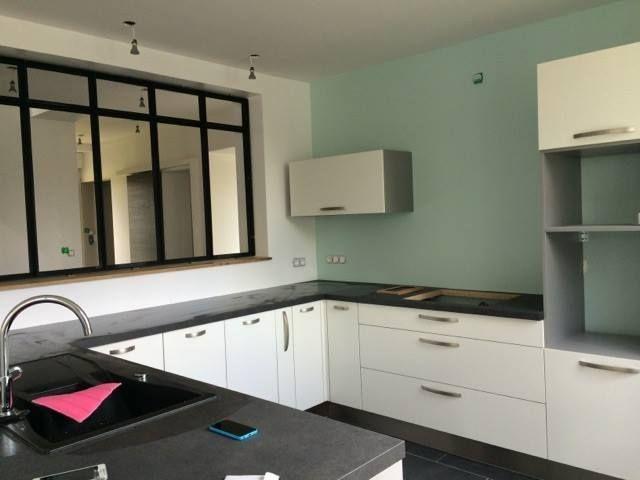 Une verrière dans la cuisine pour un style industriel ! #industriel - cuisine dans veranda photo
