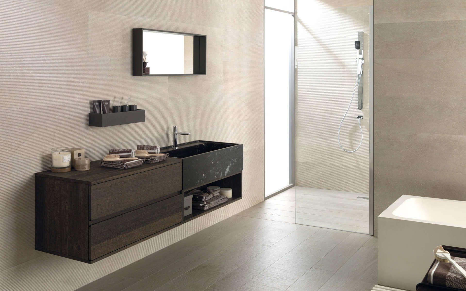 Bathroom Furniture Icon Roble Carbon Salle De Bain Porcelanosa Mobilier Salle De Bain Meuble Salle De Bain