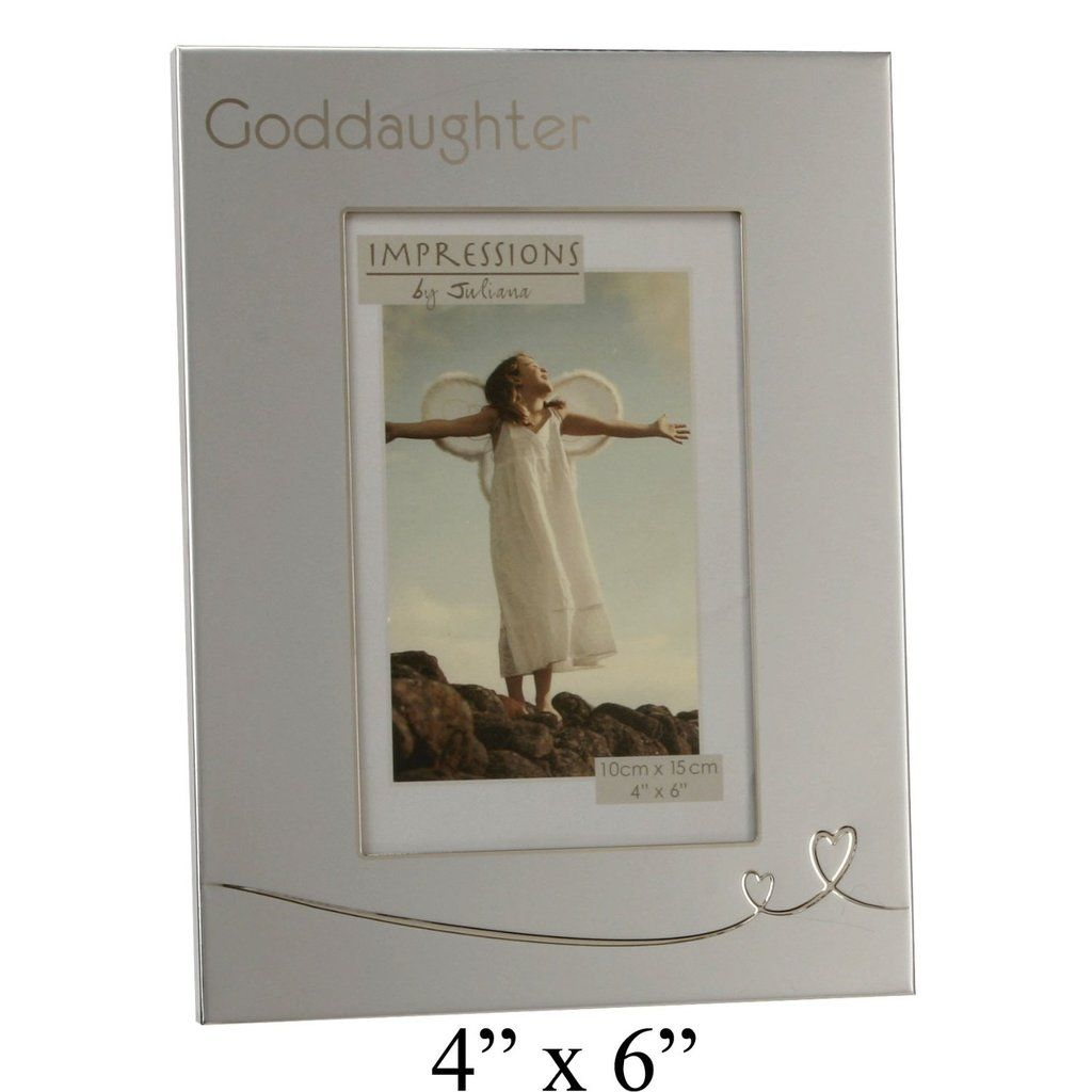 Impressions by Juliana Photo Frame - God Daughter - 4\